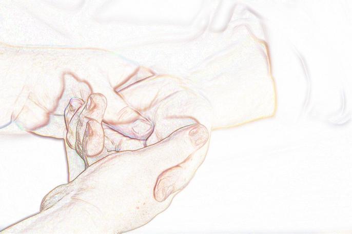 reflexology of the palm